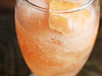 Blood Orange Frozen Negroni
